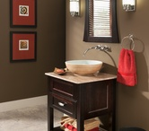Bath Vanities / bath vanities and furniture pieces available through Asheville Custom Cabinetry