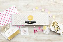 Heidi Swapp Minc Machine / Create beautiful foil effects for your handmade cards, gift tags, banners, embellishments, gift bags and much, much more with the Heidi Swapp Minc Foiling Machine! Find the Minc Machine and Heidi Swapp Foils and Accessories at www.createandcraft.tv