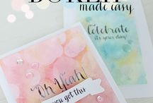 Stamp Inspiration / I am always looking for inspiration whether it's Stampin' Up! or elsewhere.  I have found these inspiring and use them to jump start my stamping mojo.  Carol Lovenstein www.pinkstampagne.com