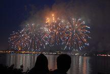 Sternenzauber über Kiel / Impressionen vom Abschlussfeuerwerk der Kiwo 2015