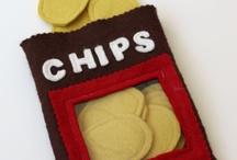 crochet Simba chips