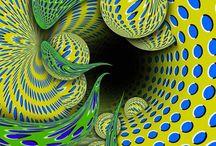 Op Art / Optical Illusions, Op Art / by zuzugraphics