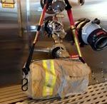 HoseMonkey Textiles / Recycled Fire bunker gear and fire hose.