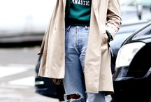 ELLE // Look . Jeans .denim