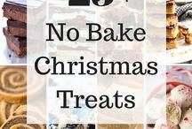 No bake Xmas treets