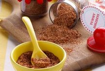 Seasonings, Marinades, Rubs & Glazes / Anything that makes your meals tasty!!