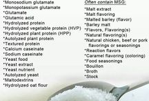Health- MSG & its Other Names