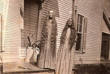 Pioneer Women's Long Hair / Women in the 1800's had long hair, and these photos showed their hair's length and beauty. I've added long men's beards, horse's manes and tails too.
