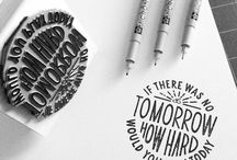 More than words / Typography and Lettering