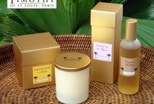 Candles & Roomsprays - French Home Fragrances / Quality candles and room sprays in faboulous fragrances from Timothy of St Louis, France. UK agents - PAD UK