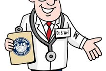 Dr. B. WELL / DOCTORS UNITED's MASCOT -- with Medical Office Facilities in the Bronx, Ardsley, Yonkers and White Plains.