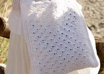 crocheted bags and purses