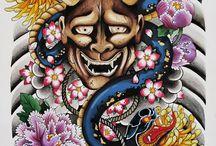 Devil Japanese Tattoo