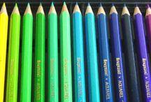 Boîte à Outils pour la Mise en Vie des Rêves / Les outils, les pinceaux, les matières, toutes les choses qui servent à créer