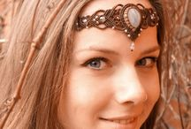 Macrame HeadPiece