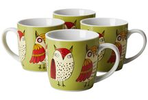 Owl Mugs / by My Owl Barn