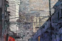 John Salminen-Watercolours
