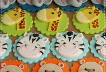 Jungle Zoo Animals Toppers