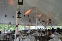 Tent Decor and Ideas  / Outdoor Weddings