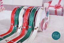 Christmas Ribbon / Personalised Christmas Ribbon