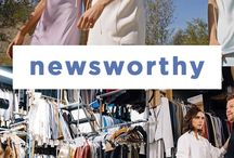 NEWSWORTHY / Stay tuned for the top updates in the fashion and beauty industry that you need to know about.