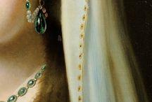 Details in oil paintings