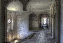 casas y lugares abandonados