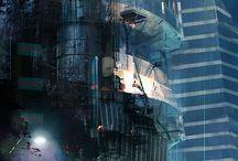 sci fi cityscapes