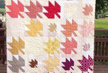 quilts: maple leaves