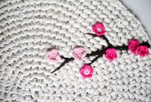 DIY crochet and knitting