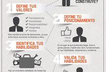 Marca personal / Infografias y documentación de como crear tu marca personal