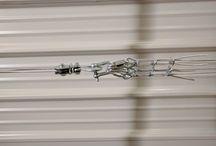 Astuce Rangement Remorque / Rangement remorque au plafond. Libérer une place de stationnement dans son garage