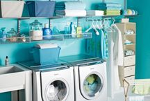 Laundry Room Ideas / Ways to make your laundry room beautiful and efficient. / by Amy Green
