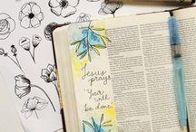 B i b l e / Bible journaling