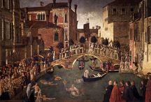 la città ideale e la città reale / Le città ideali e le città reali realizzate nella fantasia dai pittori e nella realtà dagli architetti!