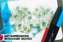 Art Impressions / Art impressions stamps and techniques