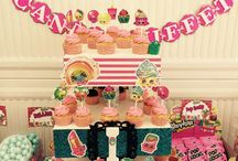 Fiestas de cumpleaños de shoppkins