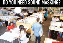 Sound Masking / Most offices today feature more open spaces and smaller, and often shared, workstations. Less sound absorptive materials are being used such as lower or non-existent partitions, hard or glass surfaces, and thinner walls and doors. This creates acoustical challenges that negatively impact workplace satisfaction, productivity, and speech privacy.