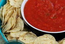Salsa / Salsa recipes to use as sides or marinades.  / by Tazim Damji BeingTazim.Com