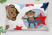 Kids Room Decor - Personalised Kids Stuff / With our awesome range of Kids Personalised Quilt Covers, Fleece Blankets, Cushions, Pillowcases, Wall Clocks & Money Boxes teamed up with our beautifully illustrated designs you are sure to find something you will love!