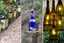 10 ideas creativas para reciclar las botellas de vidrio