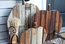 """Rustic Home Diy Decor Ideas. / Сегодня """"рустик-стиль"""" является модным и популярным в дизайне домашних интерьеров, оформлении свадеб и праздничных мероприятий, мебели и одежде. Основными чертами стиля являются- натуральные материалы, простые линии и минимум изысков в области обработки поверхностей и их покраски."""