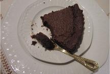 Mousse de chocolate horneada