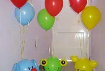 Balonková výzdoba - balonky