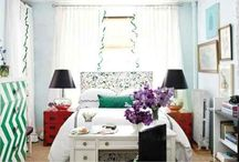 Roomspiration / Inspiration, ideas and style for cozy apartment sized bedrooms
