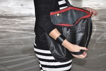 oversized byCACHE bags / oversized handmade leather tote bags  minimal design, High leather quality