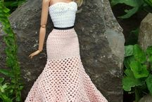 Crochet Barbie Wardrobe Ideas