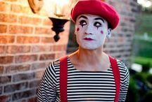 Circus make up
