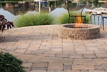 Hardscape: Pavers and Retaining Walls / #concretepaver #hardscapes #retainingwall / by Bon Tool Co