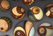 Artesanato com Conchas e Pedras